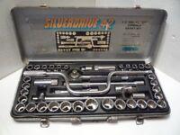 Chrome Steel Socket Set Metric and UK.