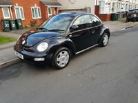 2002 VW BEETLE 3 DRS HATCHBACK PETROL MANUAL CHEAP TO GO £649 CALL ONLY 07440307417