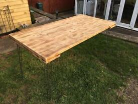 Handmade dinning table