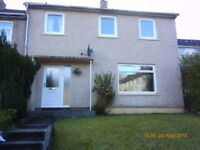 3 bedroom partly furnished house in East Mains