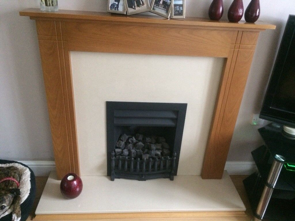 real flame gas fireplace in mildenhall suffolk gumtree