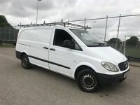 Mercedes Benz Vito 109 CDI LWB 56 plate 218k but drives absolutely perfect full service history2keys