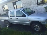 mazda b2500 double cab 4x4 2.5 dieasel no email call or txt only