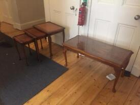 Coffee Table & matching Nesting Tables