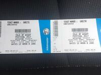 ISLE OF WIGHT TICKETS!! FULL WEEKEND CAMPING
