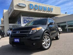 2015 Ford Explorer Limited | LOADED |4WD| NAVI | 2ND ROW CAPTAIN