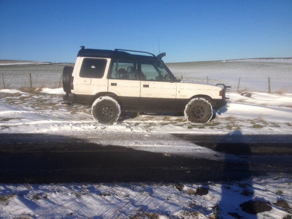 Land Rover discovery 1 off-road ready 4x4