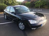 Ford Mondeo 2.0 Tdci 2007 07 black cheap diesel family car towbar fitted alloys CD player