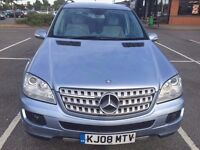 Mercedes-Benz M Class ML 280 CDI Sport 7G-Tronic 5dr With SAT NAV, Roof Rails, Full Service history