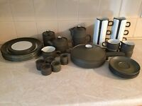 Old Denby Tea Set Collection
