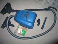 Sebo K1 1200w cylinder vacuum with all tools, clean filters and supply of bags, very good condition.