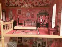 SMYTHS barbie dolls house including lots of accessories like new