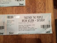 TOGETHER THE PEOPLE FESTIVAL THIS SATURDAY 3RD PRESTON PARK X2 ADULT PLUS X1 UNDER 15 TICKETS