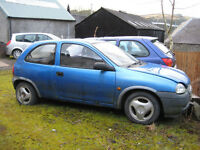Vauxhall Corsa 1.0 12v Envoy 3 Door selling for spares or repair