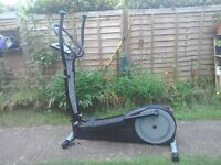 Cross trainer, manually operated, no cable, buyer collects