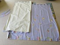 Dunelm Fairy and Star Blackout Pencil Pleat Curtains 168x183cm