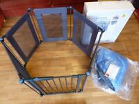 Lindam Safe & Secure Fabric Baby Play Pen
