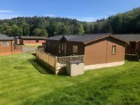 2017 Luxury 2 bedroom lodge with large decked area