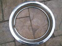 Classic car wheel trims
