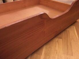 Wooden Underbed Storage Drawers