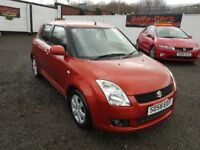 Suzuki Swift 1.5 GLX 5dr / 2008 (58 reg), Hatchback / MOT JAN 2019/ PLUS WARRANTY