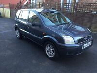 2003 Ford Fusion 1.4cc--8 months mot,service history,alloys,cd,ac,clean in & out,excellent runner.