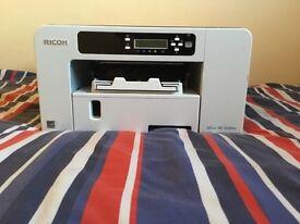 Ricoh Aficio SG3110DN Gel-Jet A4 Printer w/Ink Cartridges (Used)