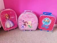 Girls suitcase bag