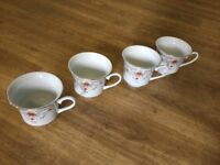 Vintage Tea Set - Plates, Cups & Saucers