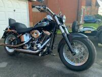 SOLD Harley Davidson softail. Very low mileage SOLD