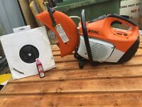 2017 stihl ts410 disc cutter come with new diamond blade