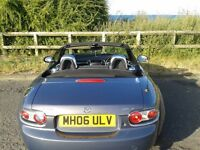 Mazda MX5 For Sale, 2006 model, with hard top, 2.0L Low Milage