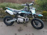 2017 stomp juicebox 3rd gen 90cc fully automatic pit bike electric start