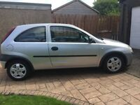 Vauxhall corsa 1.2 for sale- 2002