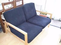 IKEA sofa and chair, adjustable position, good condition