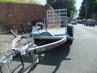 Large Single Motorcycle Trailer