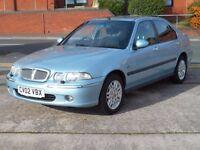 02 ROVER 45 1.6 CLUB + 88K + LONG MOT + CLEAN CAR