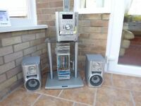 Sony Radio, 6 Disc CD Payer including stand
