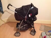 am going to sell a baby push chair with car seat with three months used with excellent condition.