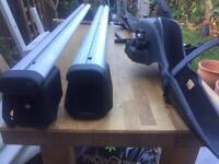 Audi Q3 roof rack and bike holder