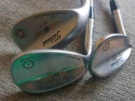 Left hand wedges