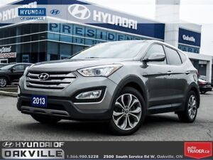 2013 Hyundai Santa Fe 2.0T SE | LEATHER | PAN ROOF | CAM | ONE O
