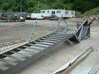 Galvanised steel Fire escape