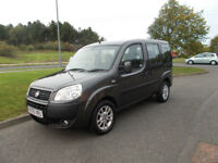 FIAT DOBLO 1.4 MPV WITH REAR WHEELCHAIR CONVERSION 2009 ONLY 61K MILES BARGAIN £3600*LOOK*PX/DELIVER