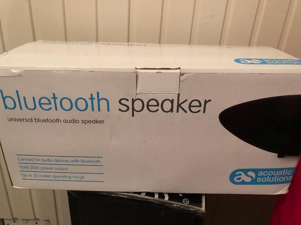 Acoustic solutions Bluetooth speaker brand new in the box