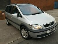 Vauxhall Zafira 2.0 Dti Long MOT Full S/History Absolute Bargain 7 Seater Diesel No Offers !! £595
