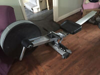 V Fit used rowing machine