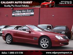 2003 Mercedes-Benz SL-Class SL500 / Hard Top Convertible / LEATH