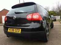VW GOLF GTI TFSI AUTO DSG WITH PADDLE SHIFT AND LAUNCH CONTROL AND NEW GEARBOX FITTED.