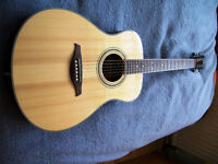 Vintage guitar V 300 and 'Kinsman' case, Very powerful tone, and in wonderful condition.
